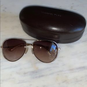 Michael Kors sunglasses & case